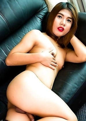 Sky is a gorgeous Asian tgirl with an amazing body, beautiful face, sexy small tits and a nice uncut cock! Join this horny transgirl as s