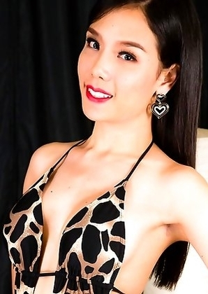Janie is a stunning Thai tgirl with an amazing body, a beautiful face, big boobs, a sexy round ass and a rock hard cock!