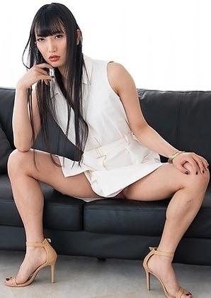 Kaoru Hanayama New Sexy and Hot Japanese Ladyboy Model posing in lingerie