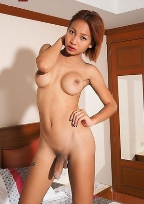 Nanny is a beautiful slim girl who was a bit shy during the shoot!