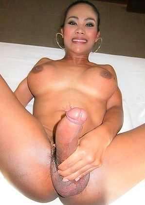 Anal shaving and big cock horny frottage with Ladyboy Jasmine