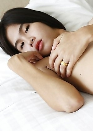 21yo busty Thai shemale Gogo fucks and sucks his white cock and gets a facial