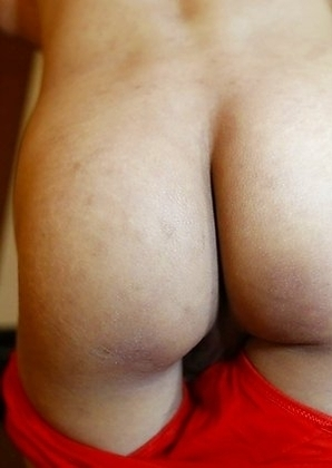 Thai ladyboy Poy gives a pov blowjob to a fat white cock
