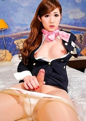 Nene Aizawa, the best-selling newhalf porn star of 2010 in Japan.