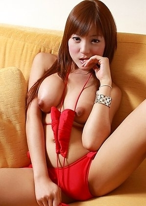 Ladyboy Pang - Nipple Play Girlfriend Wank