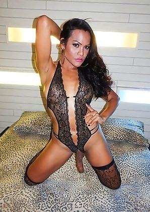 Ladyboy Kyrha - Hung Horny Mature Barebacking