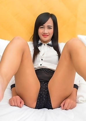 Young Ladyboy Sucking and Fucking Like a Champ!
