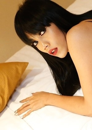 25yo beautiful Thai ladyboy Yammy before before getting fucked by white guy