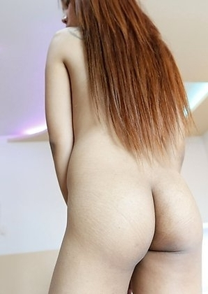 19yo Thai ladyboy Donut gets ass filled with a big white cock