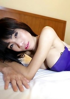 Skinny big-cock Ladyboy Jenny  from Pattaya craves anal plugging