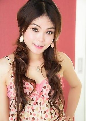 Thai Ladyboy Nino - Babydoll Bareback Gaper
