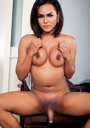 Sultry and seductive with an immaculate rack and a tasty thick helping of she-girth in her underwear, Abby is a Thai