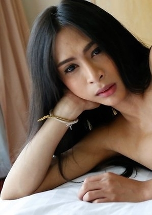 Thai ladyboy Pang loves to suck and get fucked by hard by BWC