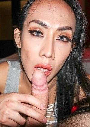 Ladyboy Bella - Cum For Lube Bareback