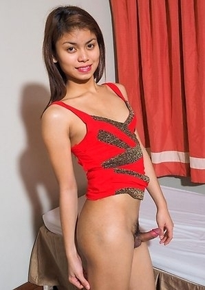 Rhodora is a pretty 20 year old ladyboy from Manila. She likes entering pageants and often wins.